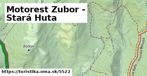ilustračný obrázok k Motorest Zubor - Veľký Inovec, lúka