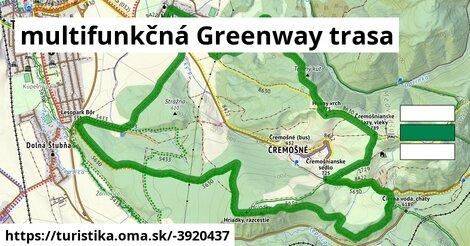 ilustračný obrázok k multifunkčná Greenway trasa