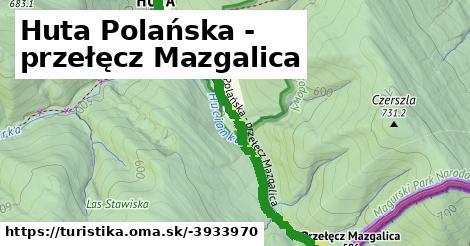 ilustračný obrázok k Huta Polańska - przełęcz Mazgalica