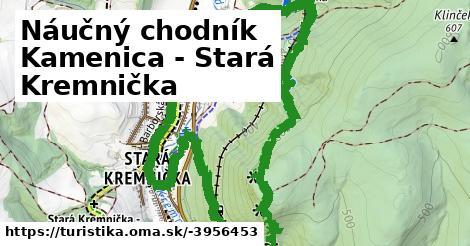 Náučný chodník Kamenica - Stará Kremnička