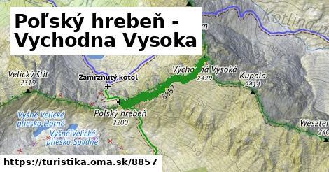 ilustračný obrázok k Poľský hrebeň - Vychodna Vysoka