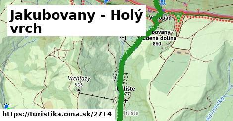 ilustračný obrázok k Jakubovany - Holý vrch