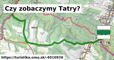 Czy zobaczymy Tatry?