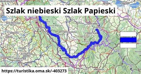 Szlak niebieski Szlak Papieski