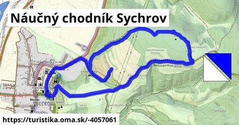 ilustračný obrázok k Náučný chodník Sychrov