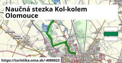Naučná stezka Kol-kolem Olomouce
