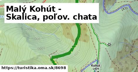ilustračný obrázok k Malý Kohút - Skalica, poľov. chata