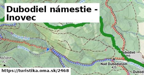 ilustračný obrázok k Dubodiel námestie - Inovec