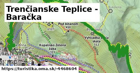 ilustračný obrázok k Trenčianske Teplice - Baračka