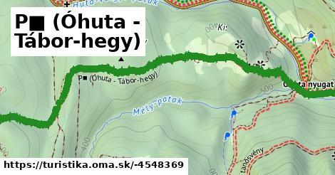 P■ (Óhuta - Tábor-hegy)