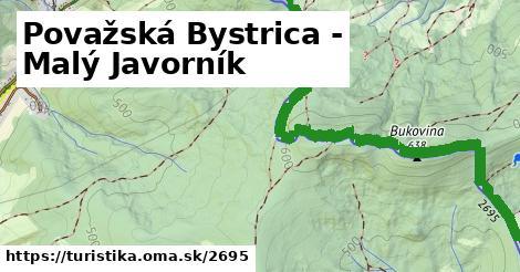 ilustračný obrázok k Považská Bystrica - Malý Javorník