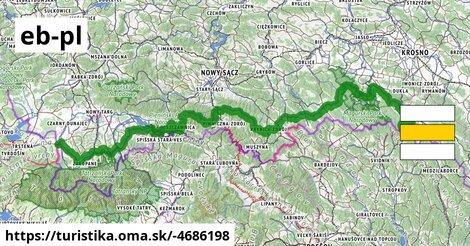 Medzinárodná horská turistická pesia trasa Eisenach–Budapešt (Poľsko východ)