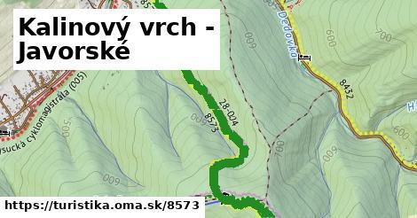 ilustračný obrázok k Kalinový vrch - Javorské