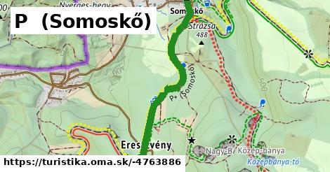 ilustračný obrázok k P+ (Somoskő - Salgóbánya)