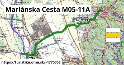 Mariánska Cesta M05-11A