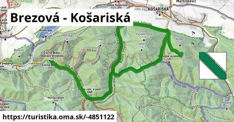 Brezová - Košariská