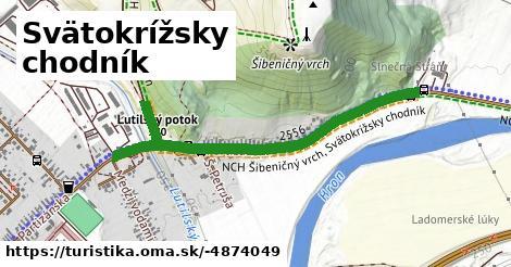 ilustračný obrázok k Svätokrížsky chodník