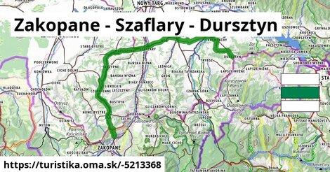 Zakopane - Szaflary - Dursztyn