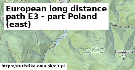 ilustračný obrázok k European long distance path E3 - part Poland (east)