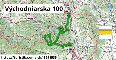ilustračný obrázok k Východniarska 100