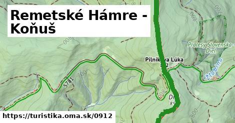 ilustračný obrázok k Remetské Hámre - Podhoroď