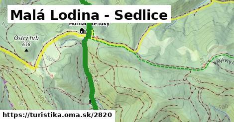ilustračný obrázok k Malá Lodina - Sedlice