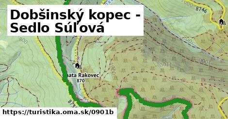 ilustračný obrázok k Dobšinský kopec - Sedlo Súľová