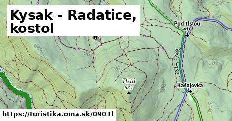 ilustračný obrázok k Kysak - Radatice, kostol