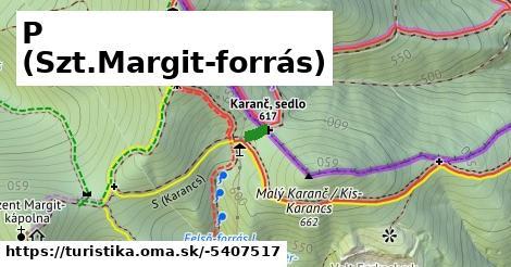 ilustračný obrázok k P+ (Szt.Margit-forrás)