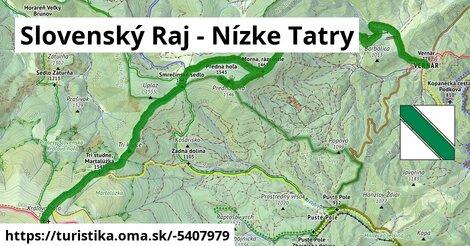 ilustračný obrázok k Slovenský Raj - Nízke Tatry