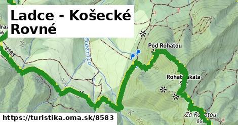 ilustračný obrázok k Ladce - Košecké Rovné