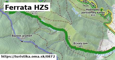 ilustračný obrázok k Ferrata HZS