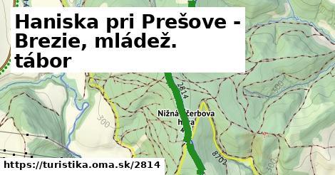 ilustračný obrázok k Haniska pri Prešove - Brezie, mládež. tábor