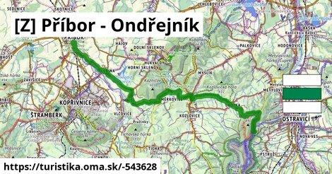 KCT green: Příbor-Ondřejník