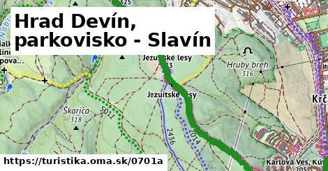 ilustračný obrázok k Hrad Devín, parkovisko - Slavín
