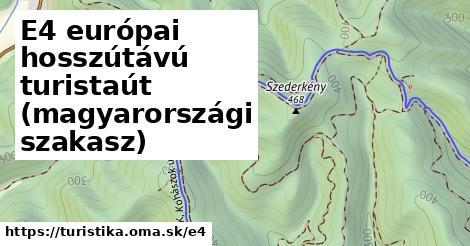 ilustračný obrázok k European long distance path E4 - part Hungary