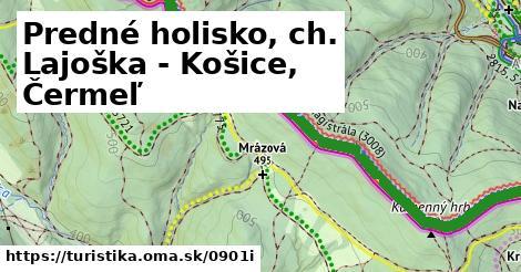 ilustračný obrázok k Predné holisko, ch. Lajoška - Košice, Čermeľ