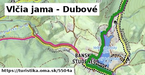 ilustračný obrázok k Vlčia jama - Dubové