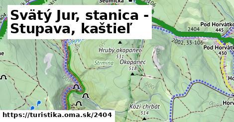 ilustračný obrázok k Svätý Jur, stanica - Stupava, kaštieľ