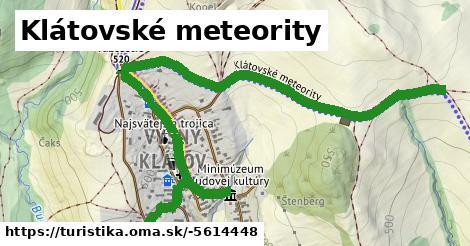 ilustračný obrázok k Klátovské meteority