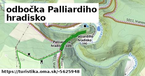 odbočka Palliardiho hradisko