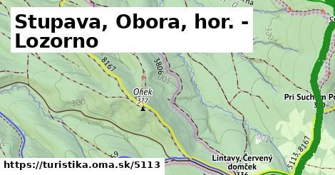 ilustračný obrázok k Stupava, Obora, hor. - Lozorno