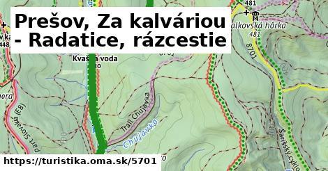 ilustračný obrázok k Prešov, Za kalváriou - Radatice, rázcestie