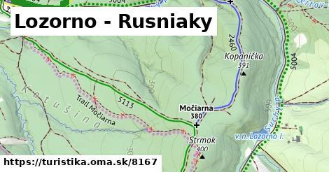 ilustračný obrázok k Lozorno - Rusniaky