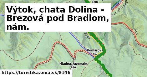 ilustračný obrázok k Výtok, chata Dolina - Brezová pod Bradlom, nám.