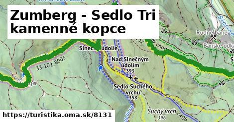 ilustračný obrázok k Zumberg - Sedlo Tri kamenné kopce