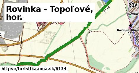 ilustračný obrázok k Rovinka - Topoľové, hor.