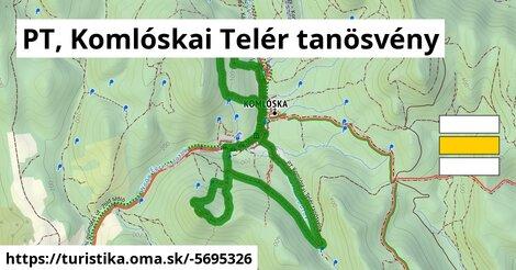PT, Komlóskai Telér tanösvény