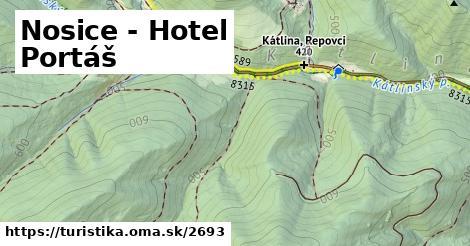 ilustračný obrázok k Nosice - Hotel Portáš