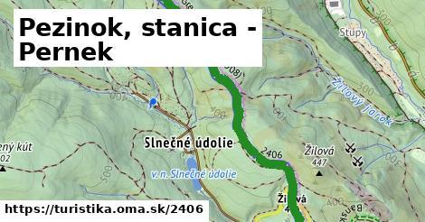 ilustračný obrázok k Pezinok, stanica - Pernek